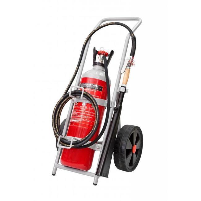 Brandbeveiligingshop Bluswagen CO2 10kg (B) permanente druk