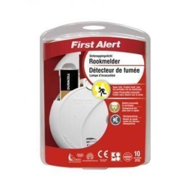 First Alert First Alert SA720CE optische rookmelder met ontsnappingslicht
