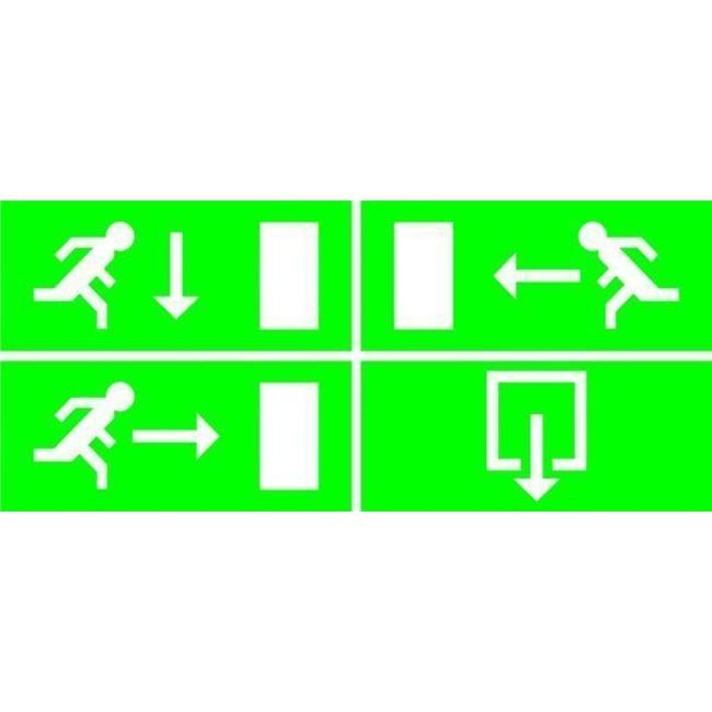 Elro Elro noodverlichting met TL-lamp, inclusief 4 richtinglabels