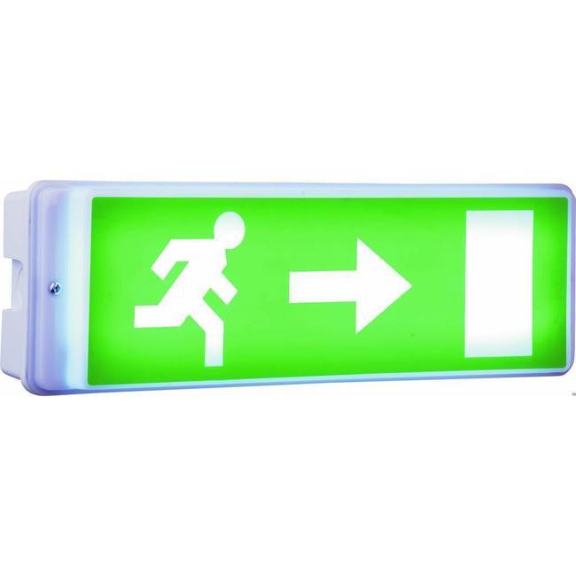 Elro Elro noodverlichting met LED-lamp, inclusief 4 richtinglabels