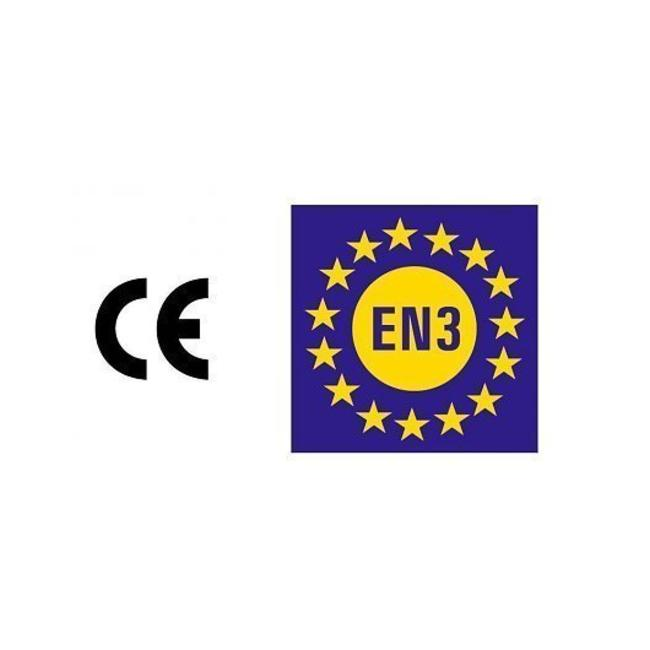 Brandbeveiligingshop Schuimbrandblusser 9l ECO/BIO (AB) permanente druk