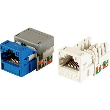 Modulo di collegamento Cat.6 1xRJ45 bianco