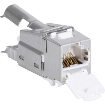 Utilizzare ITplus6 RJ45 / s ws Cat.6A 10G m.Staubschutz