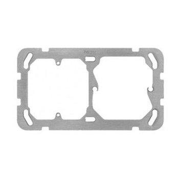 Hager Piastra di montaggio II HA horiz 77 × 137 millimetri. f.FA6 / M3 / XLR