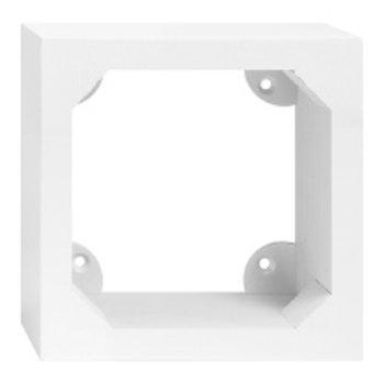 Feller AP-Holzrahmen Edizio 2×2 weiss