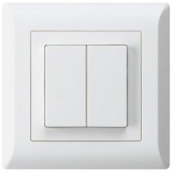 Hager UP commutateur KLI 1/3 de + 3 / 1P blanc