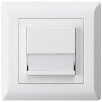 Hager anche UP-soleil interrupteur KLI ws A / 1L m.Namensschild 37x15mm