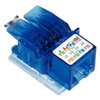 R&M Module de connexion Freenet 1xRJ45 / u Cat 6 300MHz AWG24-22