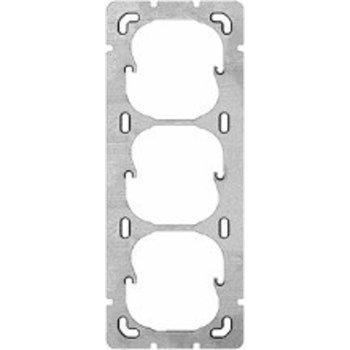 Feller UP-plaque de montage FH 3x1 3x52mm