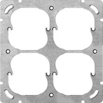 Feller UP-plaque de montage FH 2x2 4x52mm