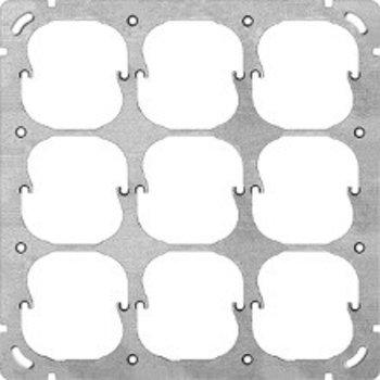 Feller UP-Befestigungsplatte FH 3x3 9x52mm
