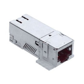 R&M Modulo di collegamento Cat.6A 1RJ45 / s senza innesto