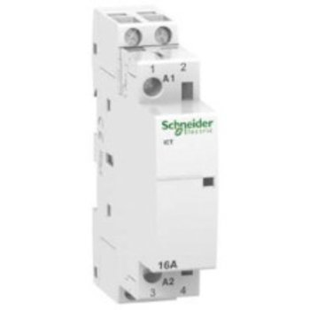 Schneider Electric contacteur d'installation SE CT 2P 16A 230-240V AC 2S