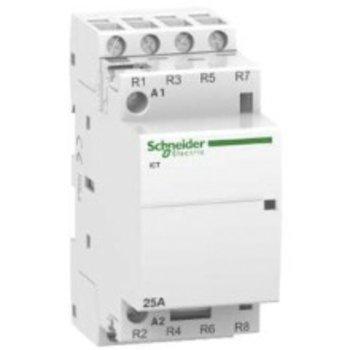 Schneider Electric contacteur d'installation SE CT AC 220-240V 25A 3P 4O