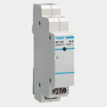 Hager Etape commutateur HA 8-230V 16A 1HP