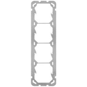 Hager la plaque de montage UP Hager Gr.IIII 77x257mm