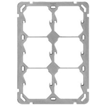 Hager la plaque de montage UP Hager Gr.3x2 137x197mm