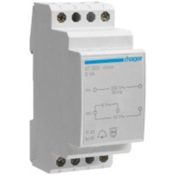 Hager EB-HA petit transformateur 230 / 8-12 8VA