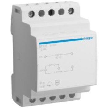 Hager EB-piccolo trasformatore HA 230 / 8-12 16VA