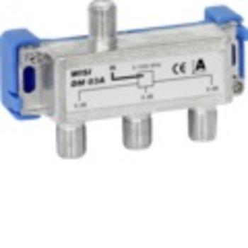 Wisi F distributeur Wisi Dm03A 3x5,9dB