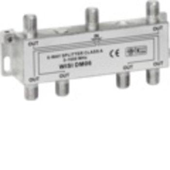 Wisi F Verteiler, 6xWISI DM06 6x9,5dB 5-1000MHz