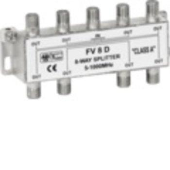 Wisi F distributeur 8xWISI DM08 8x12. 5dB 5-1000MHz