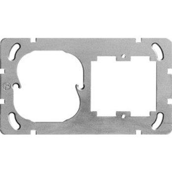 Feller Plaque de montage I137x77mm Gr.I horizontal