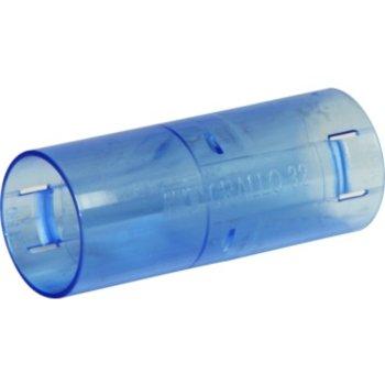 MT bocchettone MT Crallo M32 blu-trasparente