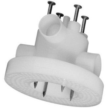 HSB Plafond HSB chevilles 96mm blanc ouvert avec des clous