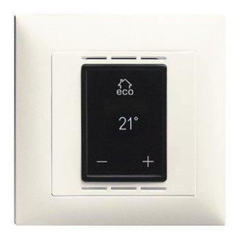 Feller UP Thermostat d'ambiance avec affichage, Fussbod.- et contrôle de la chambre