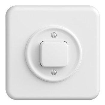 Feller interrupteur MONTEE StandardDue schéma 3 blanc,