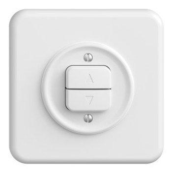 Feller UP interrupteur blanc Rangez StandardDue QMI, 1 canal