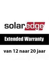 SolarEdge SolarEdge garantieverlenging van 12 naar 20 jaar