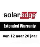 SolarEdge Garantie van 12 naar 20 jaar (driefase tot 15kW)