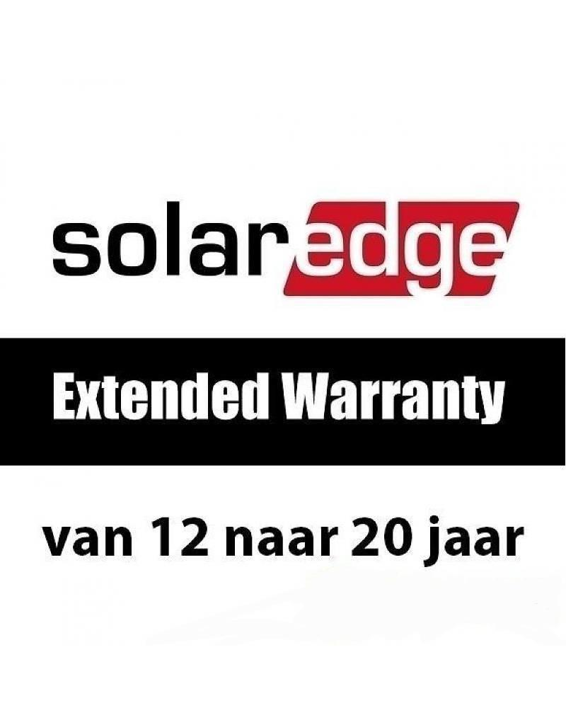 SolarEdge Garantie van 12 naar 20 jaar (enkelfase tot 6kW)