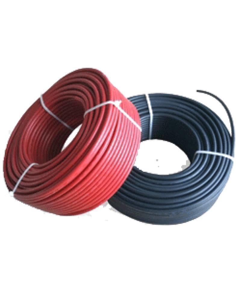 Rol Solarkabel 6mm2 (in rood) - 100 meter