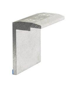 Flatfix Flatfix Eindklem  (in aluminium en zwart)