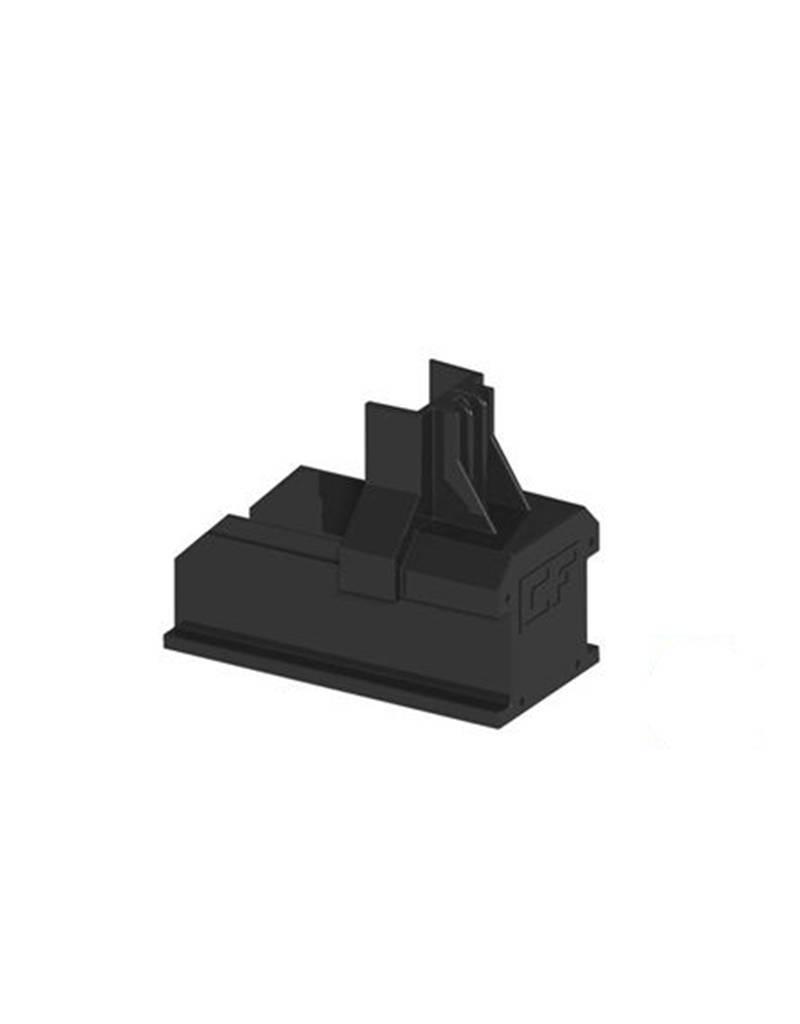 Clickfit Clickfit Evo Montagetail Eindkap (in grijs/zwart)