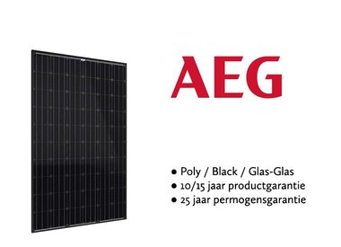 AEG zonnepanelen