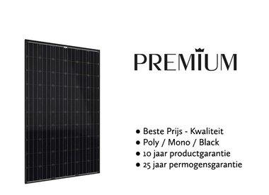 Premium / first choice zonnepanelen