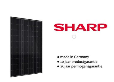 Sharp zonnepanelen