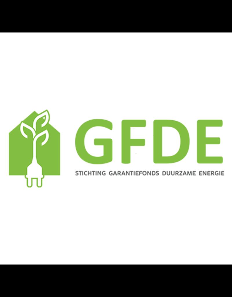Stichting Garantiefonds Duurzame Energie (GFDE) - Dekking met certificaat