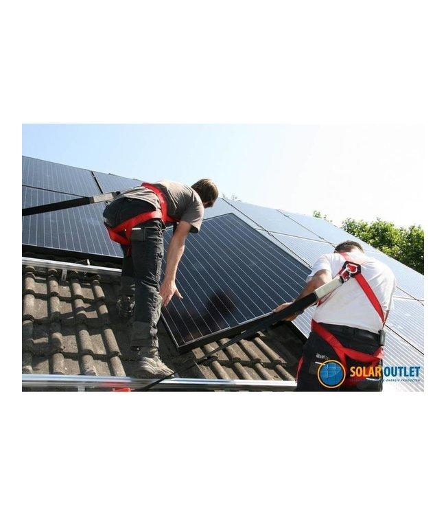 Het installeren van 17 of meer zonnepanelen (door heel Nederland)