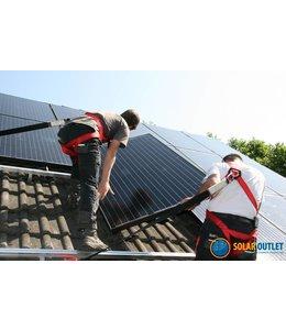 Volledige installatie van 1 t/m 7 zonnepanelen (in NL)