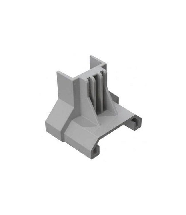 Clickfit Clickfit Evo Eindkap Staaldak Aluminium (5 stuks)