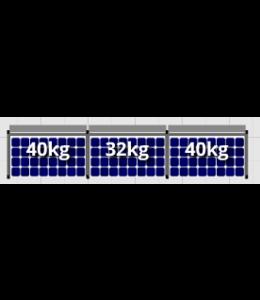 Flatfix Flatfix Fusion Complete Montageset - 1 rij zonnepanelen (Zuid)