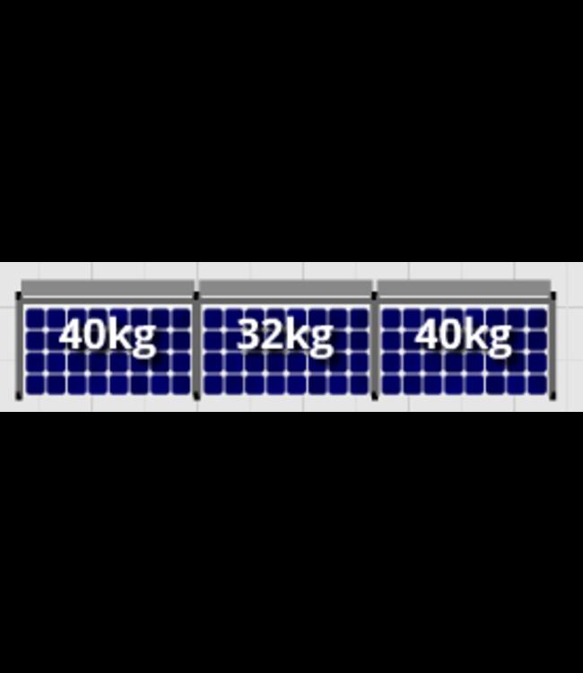 Flatfix Flatfix Fusion Complete Montageset - 1 rij panelen (Zuid)