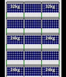 Flatfix Flatfix Fusion Complete Montageset - 5 rijen zonnepanelen (Zuid)