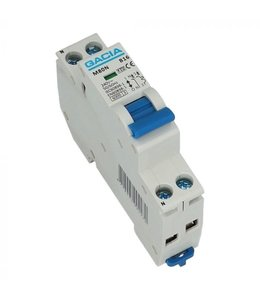 Installatie Automaat B  (1 fase) 16/20/25 Ampere