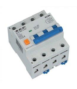 Aardlek Automaat B  30mA (3 fase) 16/20/25 Ampere